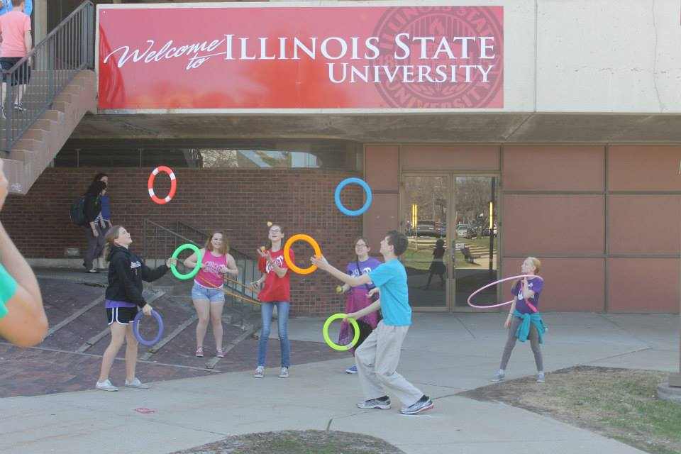 Illinois state university circus mojo community foundation for Watterson dining