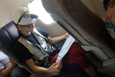 Tate on Plane