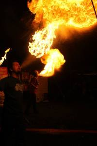Fire breathing, fire breather | CircusMojo.com