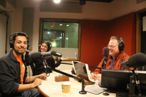 91.7 WVXU radio interview with Circus Mojo team